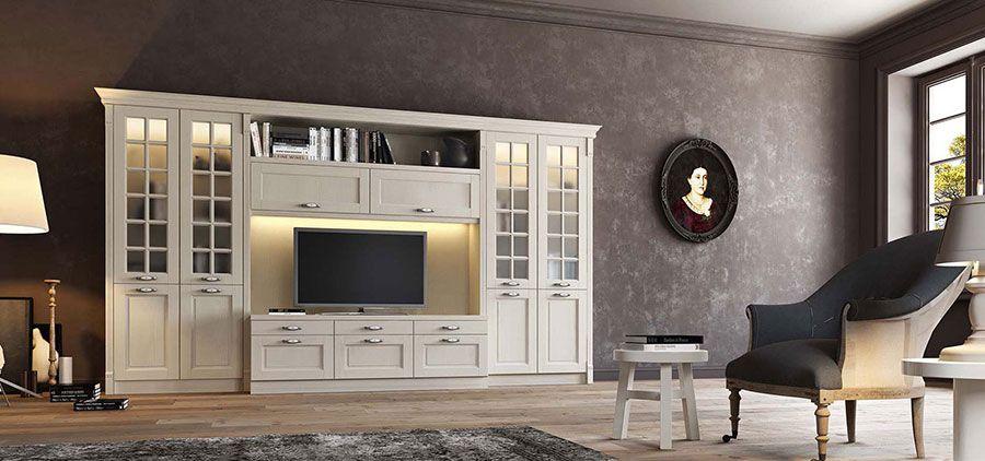 Soggiorno Classico Bianco: 20 Idee per Arredare con Classe | salone ...