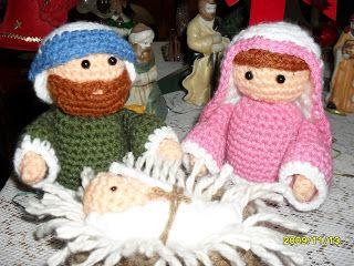 Amigurumis Navidad Paso A Paso : María josé y el niño jesús quedaron lindos no a mí me