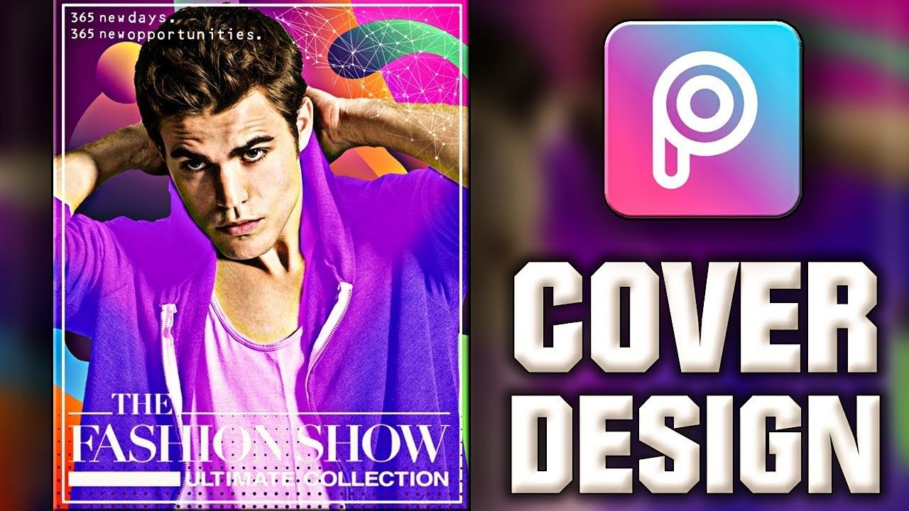 Book Cover Design Tutorial In Photo ~ Picsart tutorial magazine cover designing or book cover art