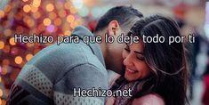 Hechizo para que lo deje todo por ti (Amor y pasión) - Hechizo.net