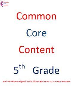 5 OA A 1 5 OA A 2 5 OA B 3 Fifth Grade mon Core Math Sheets Operations