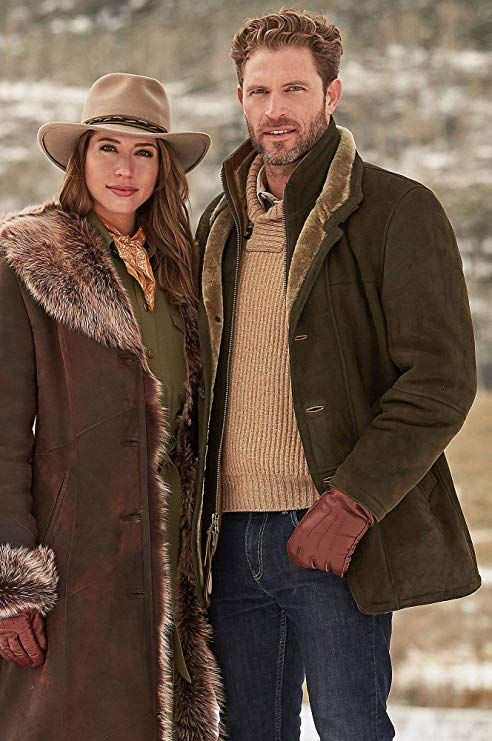 Northern Merino Shearling Sheepskin Coat is part of Mens jackets -