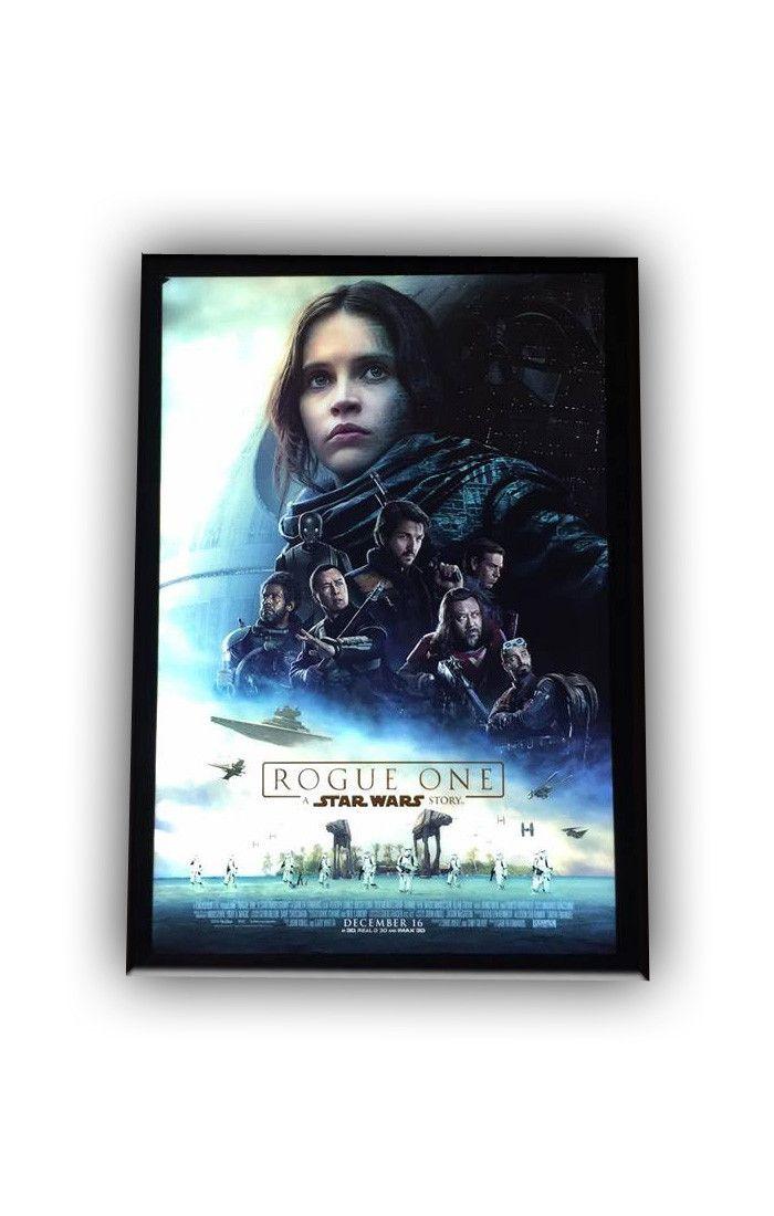 1) Holiday Sale 27x40 Premium LED Light Box Movie Poster Display Frame