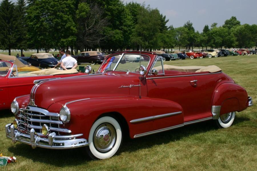 1948 Pontiac Silver Streak Convertible Coupe