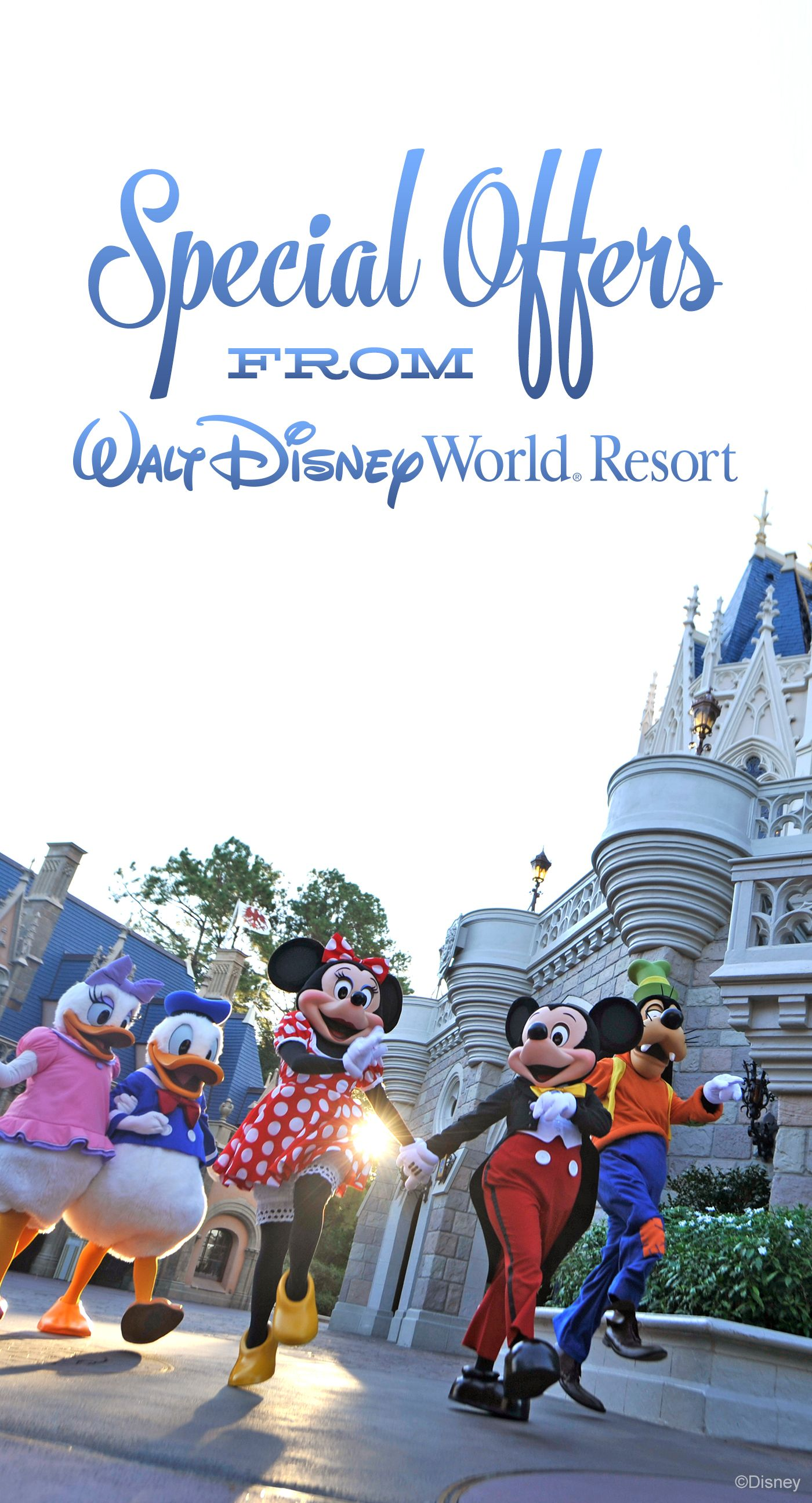 Special Offers from Walt Disney World  Disney Vacation
