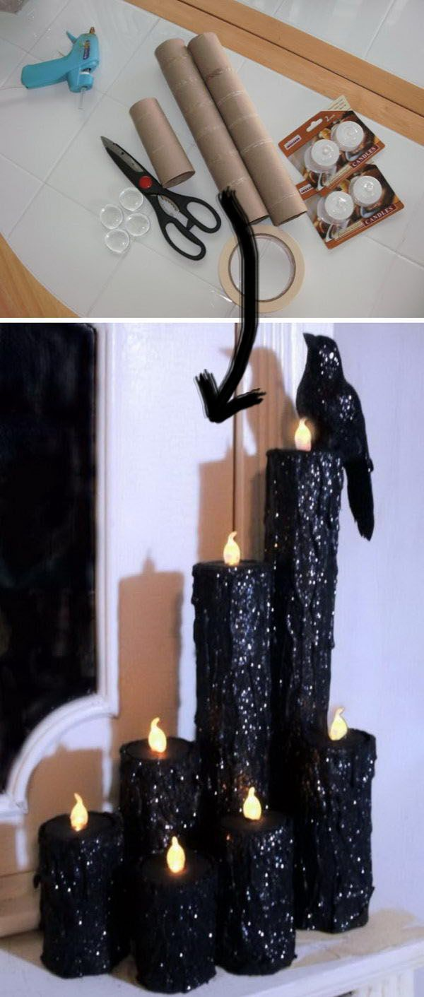 20+ Fun and Easy DIY Halloween Decorating Projects #easydiy