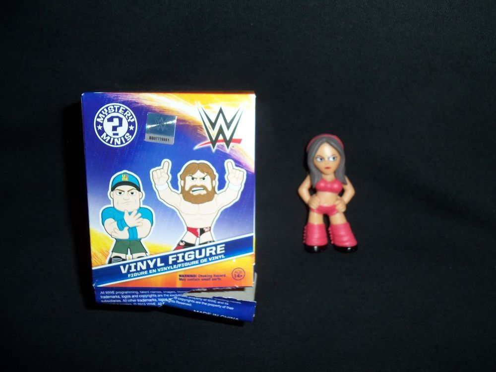 Funko Mystery Minis WWE BRIE Vinyl Figure Collectible New Opened Free Shipping