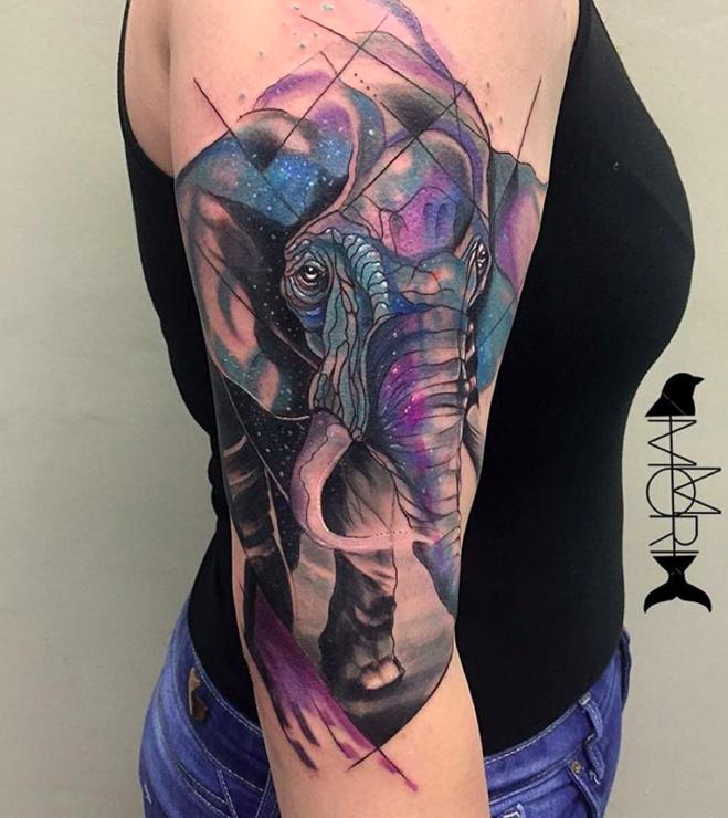 we love watercolor animal tattoos elephants pinterest elephant tattoos tattoo and tatting. Black Bedroom Furniture Sets. Home Design Ideas