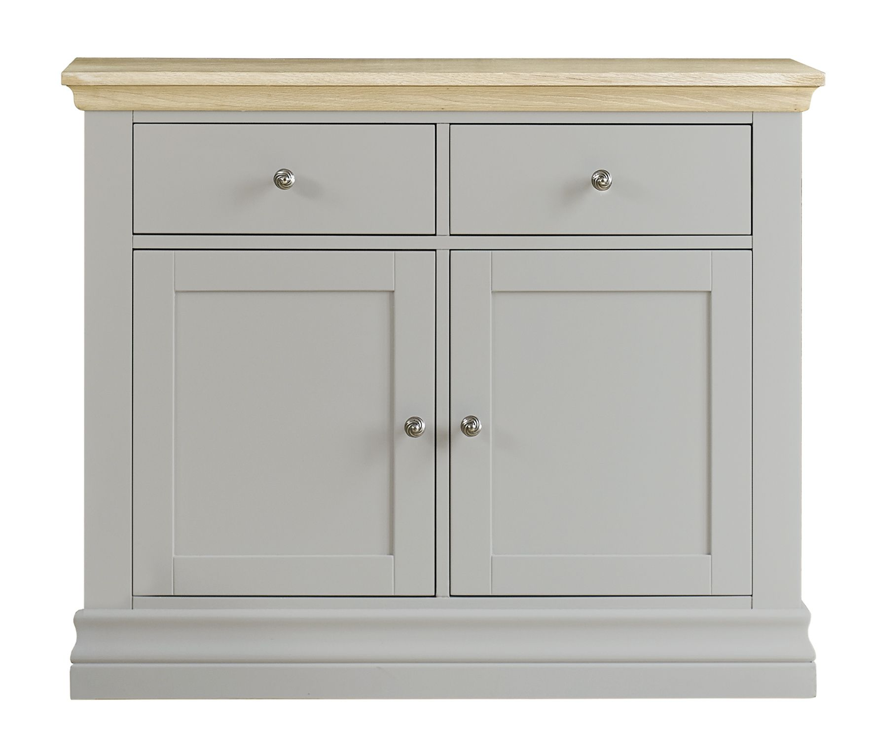Corndell Annecy Small Sideboard Hand Painted In Haze A Blue Grey With Limed Oak Top Perfect Country Chic Fur Furniture Small Sideboard Dining Room Furniture