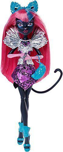 Import Monster High doll Doll Monster High Boo York Boo York City Schemes Catty Noir Doll [parallel import goods]. Parallel import goods.