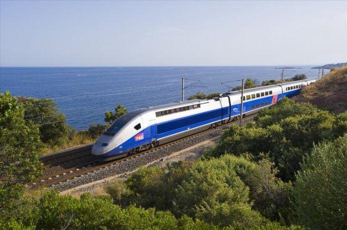 Trem de Marselha a Barcelona