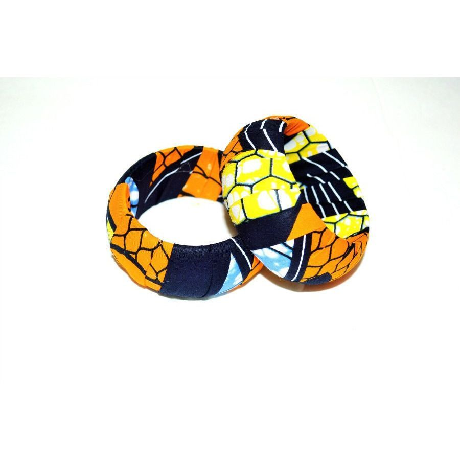 African Fabric Bangle