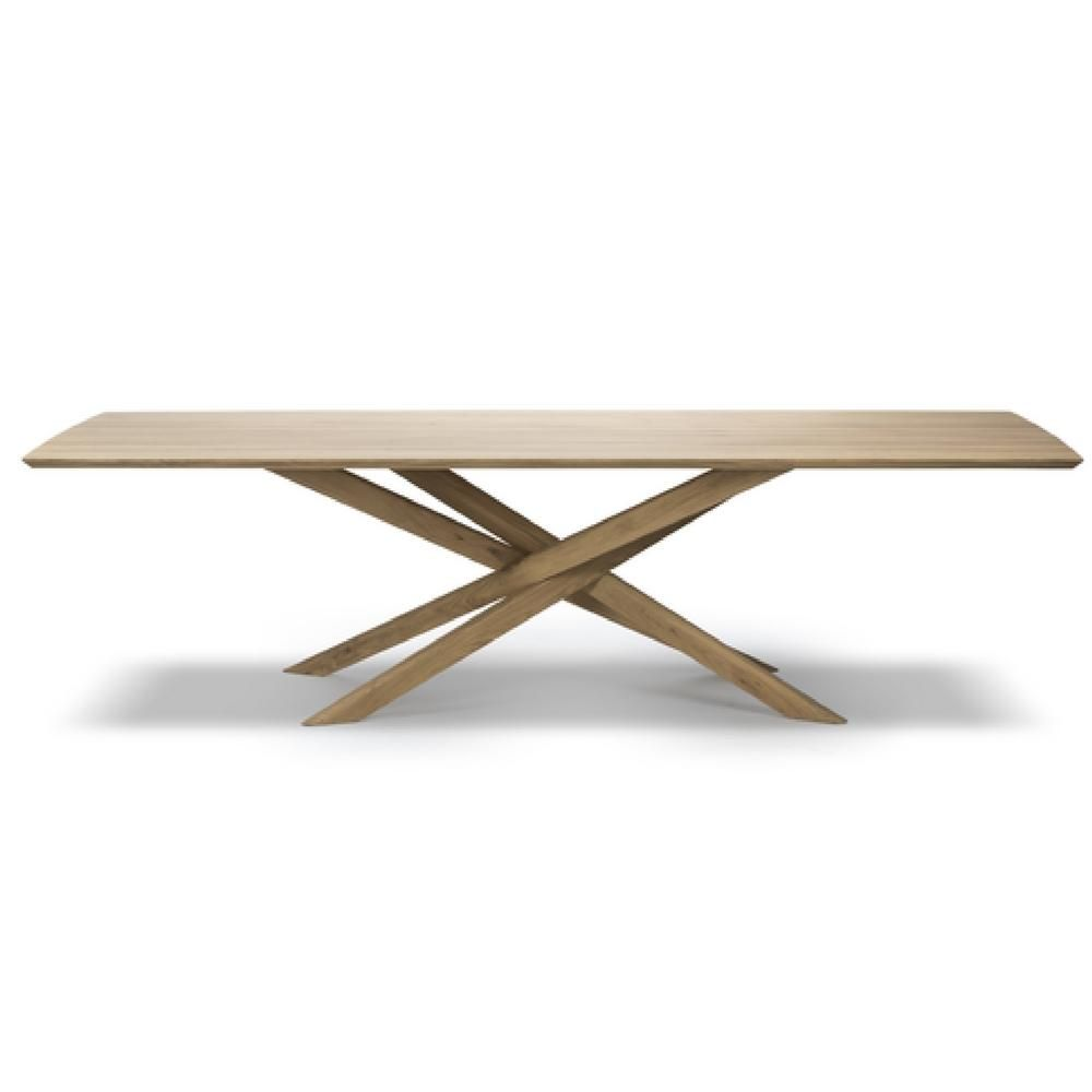 Ethnicraft Oak Mikado Dining Table Dining Table Table