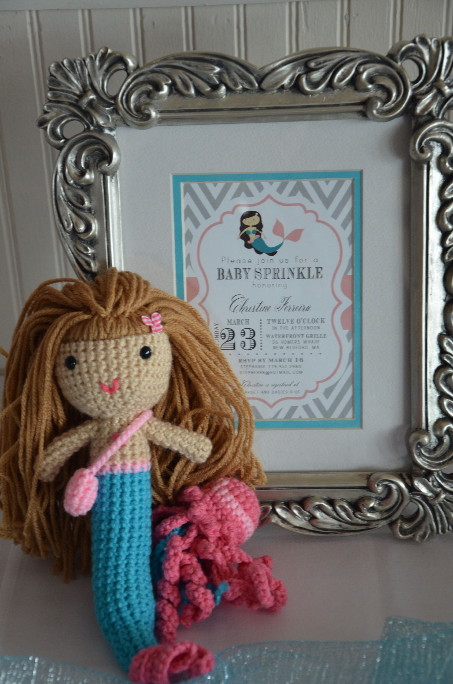 Mermaid baby shower Mermaid baby shower Pinterest
