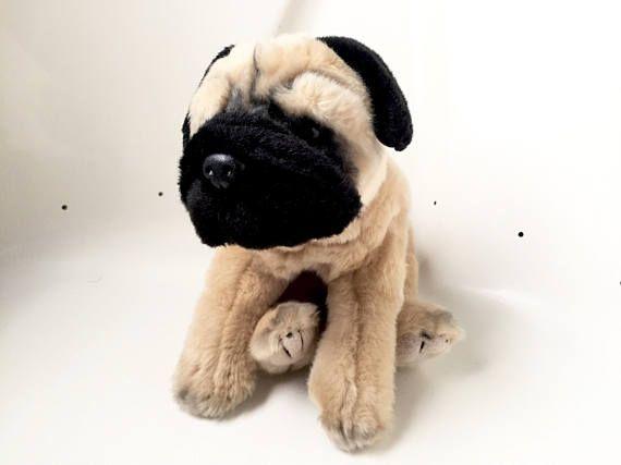 Pug Dog Stuffed Animal Dog Plush Toy Pug Dog Stuffed Animal
