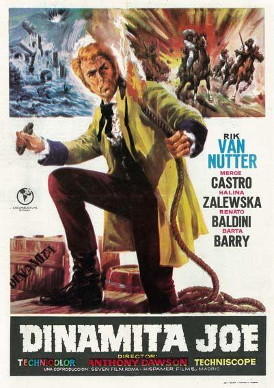 Resultado de imagen de dinamita joe 1967 poster