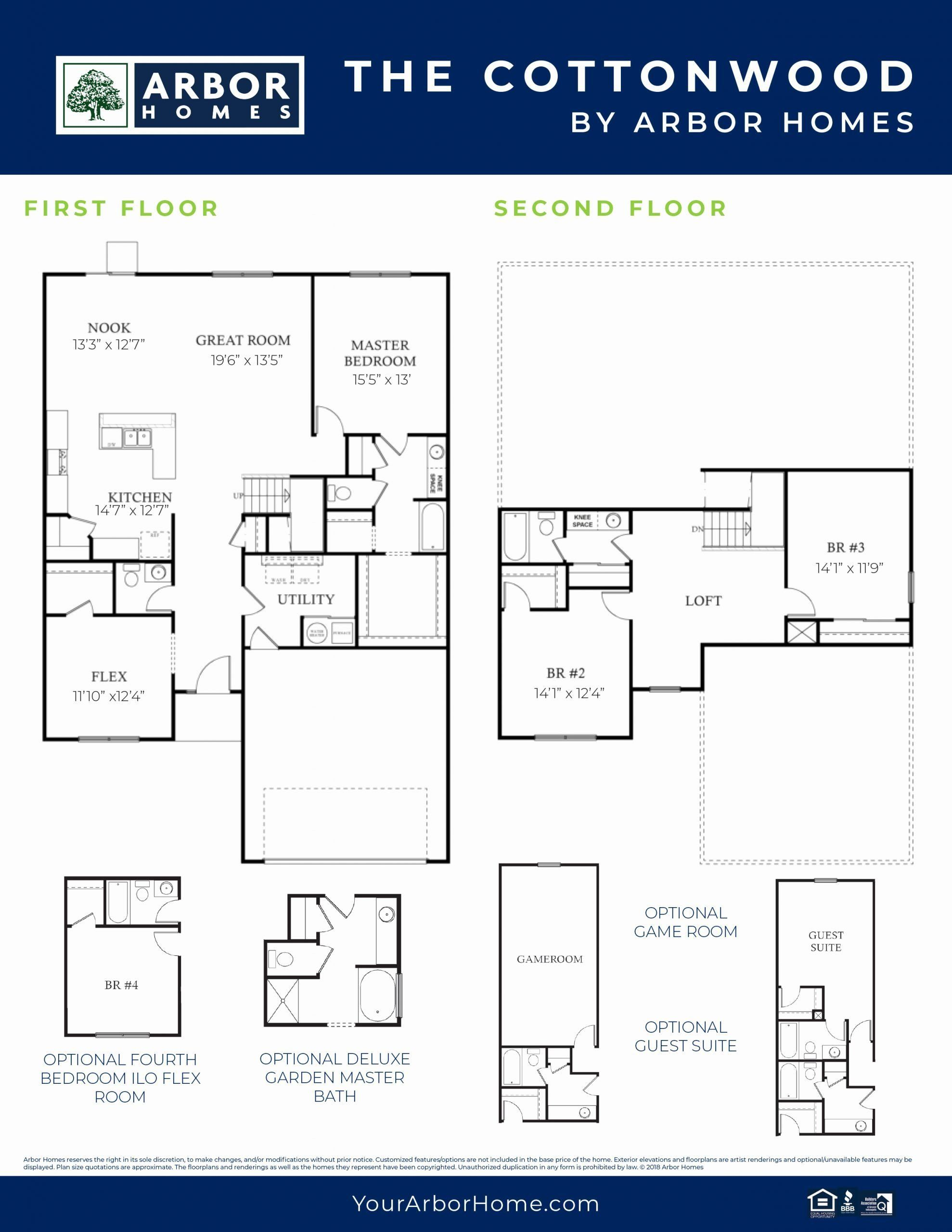 Arbor Homes Design Center New The Cottonwood 2 House Design Design Center Design