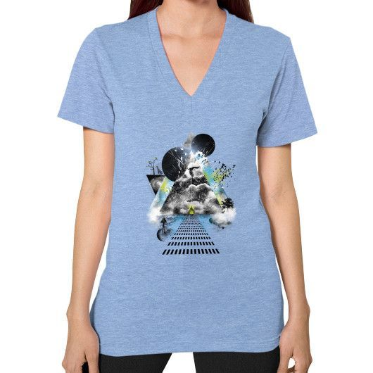 Parallel Universe V-Neck (on woman)