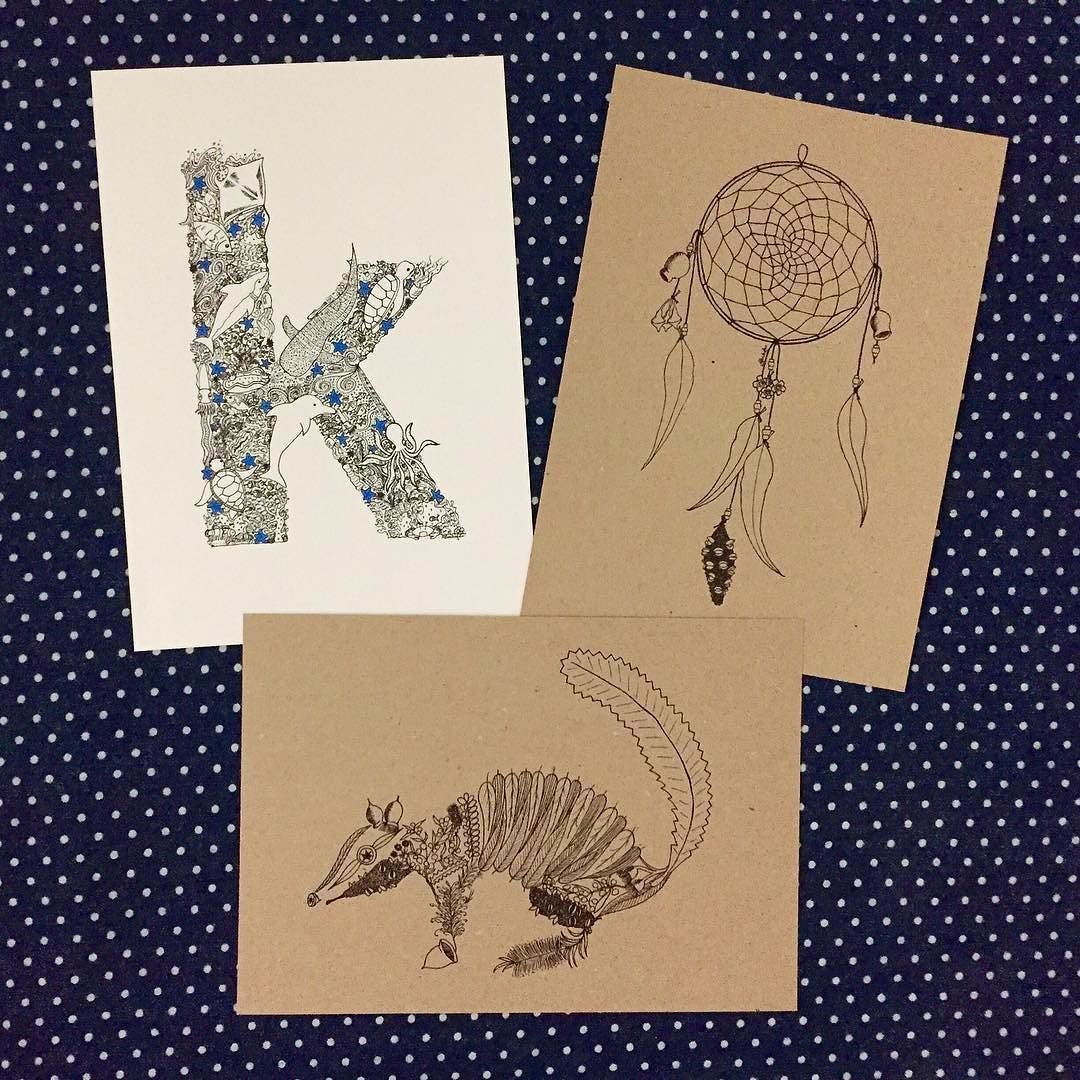 I'll be at the Dunsborough Lions Easter Fair tomorrow from 8-2. If you're in the area come and say hi! I'll have a selection of my artwork for sale  . #handdrawn #finelinerart #finelinerdrawing #perthart #homestudio #illustratedletter #dreamcatcher #numbat #perthstudio #handmadeprint #recycledpaper #brownpaper #localart #dunsboroughmarkets #smallbusiness
