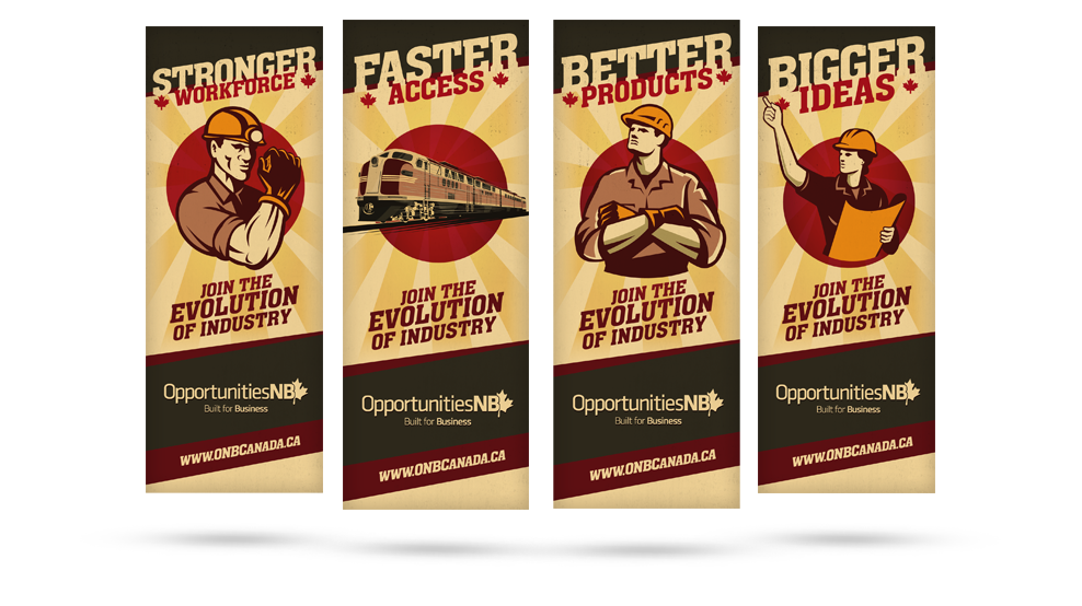 Propaganda Banners Airline Banners