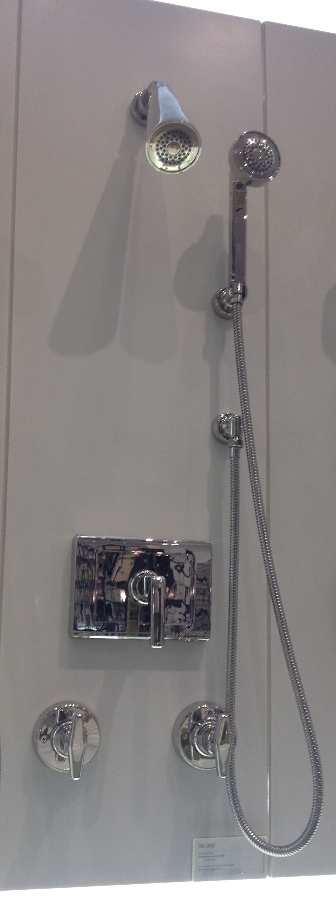 Shower head, Hand shower , levers and thermostat from Jeton ...