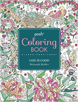 126 Beautiful Coloring Meditations On The Goodness Of God To Empty Your Mind Stress