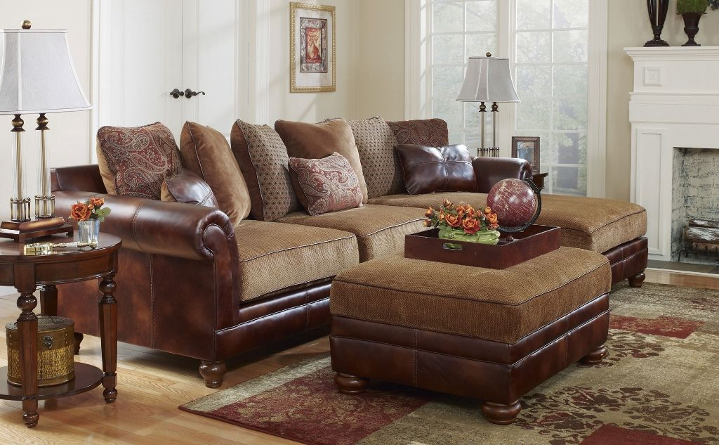 Tuscan Old World Sectional Sofa Classic Upholstery Sofas