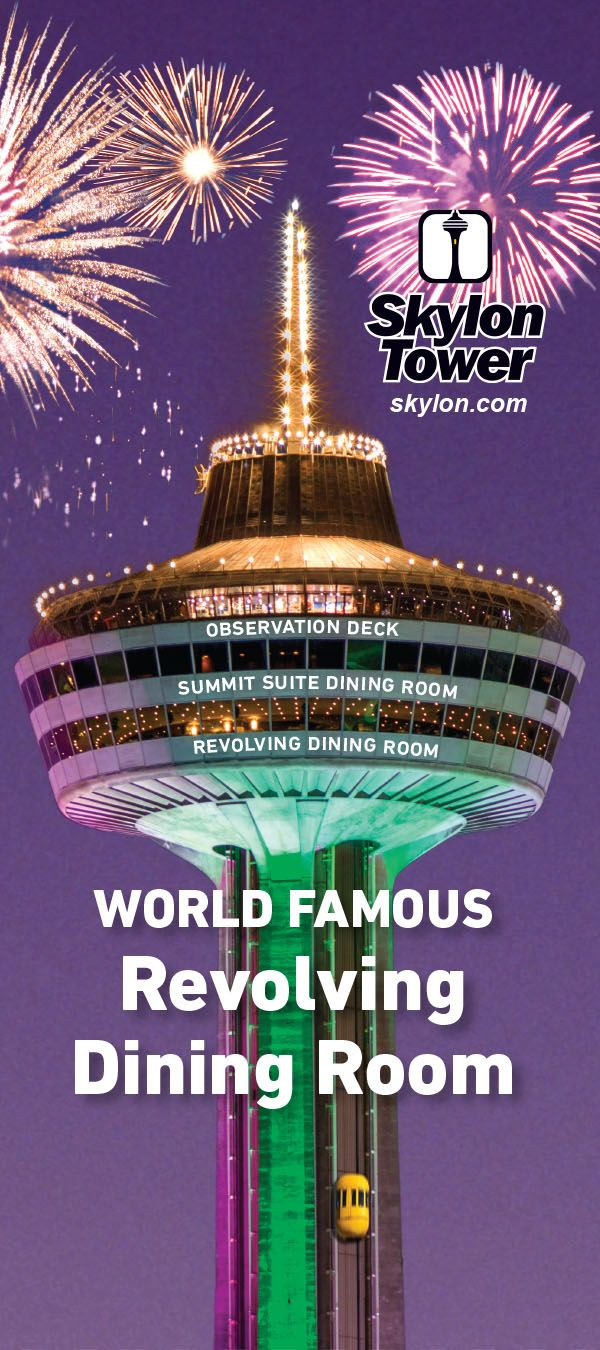 Skylon Tower Dining Brochure Rebrand 2013  Fivefive Design Interesting Skylon Revolving Dining Room Inspiration