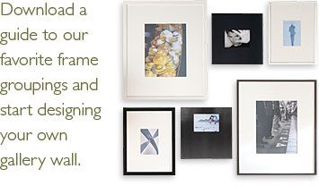 A Guide To Our Favorite Frame Groupings And Start Designing Your Own Gallery Wall