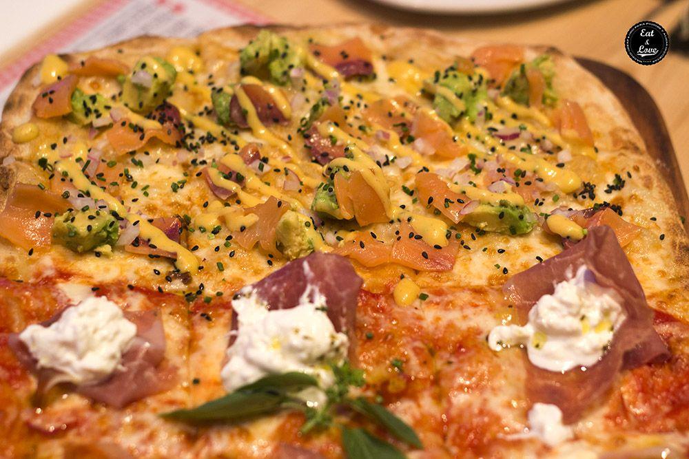 Pizza Rolling Stones Kilómetros de Pizza Madrid