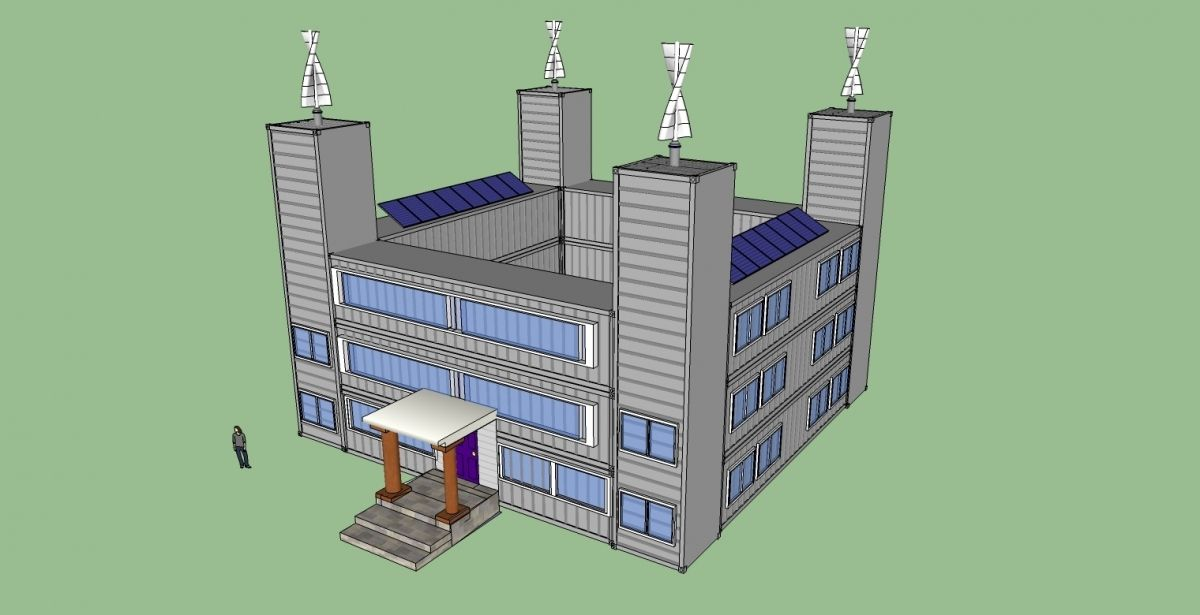 Shipping Container Apartment Plans In My Shipping ...