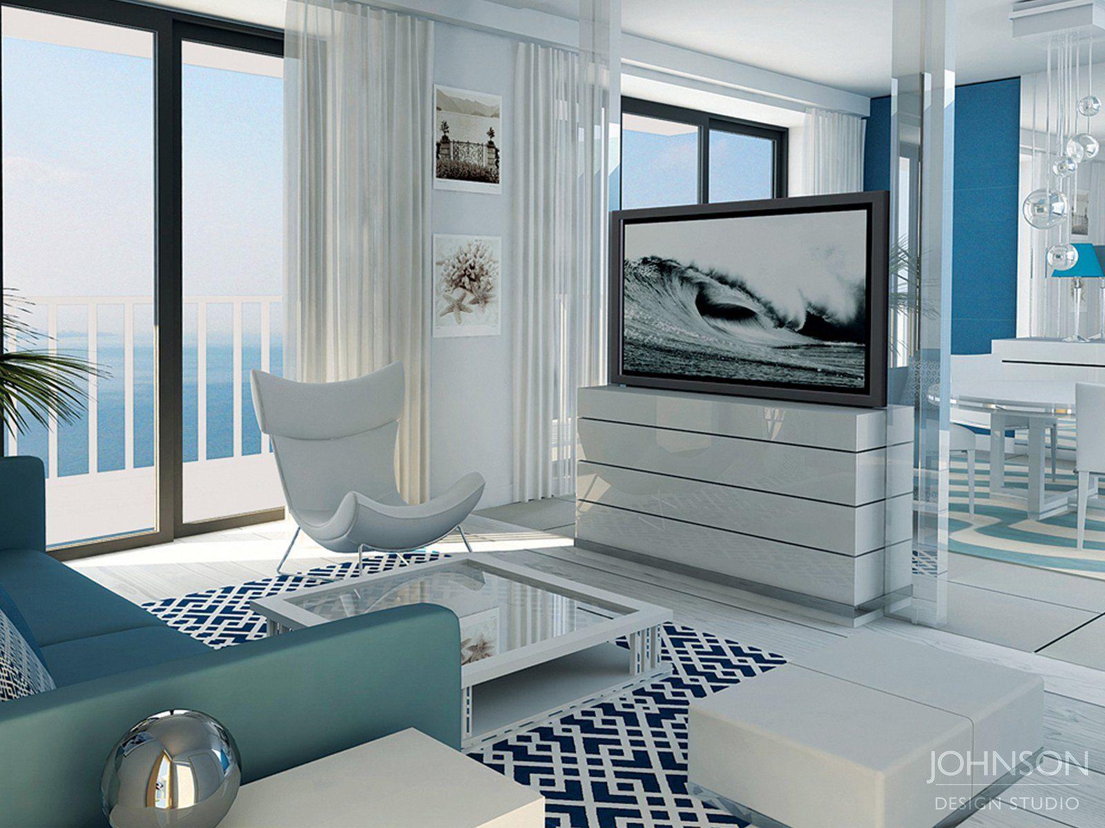 10 claves para decorar pisos modernos y con estilo for Pisos blancos minimalistas