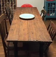 One of our Farm Tables in its New Home