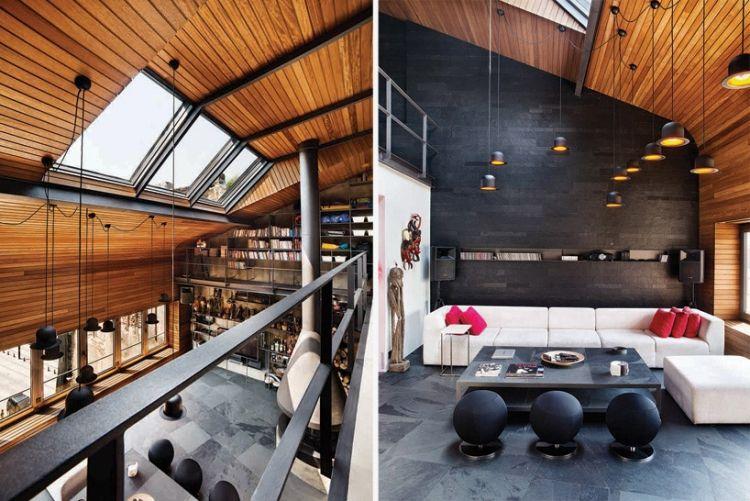 moderne penthouse wohnung, moderne penthouse wohnung in istanbul von ofist | penthouses, Design ideen