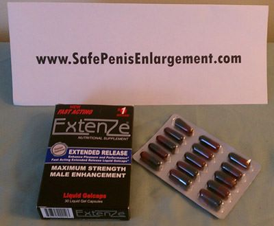 Male Enhancement Pills Extenze unboxing