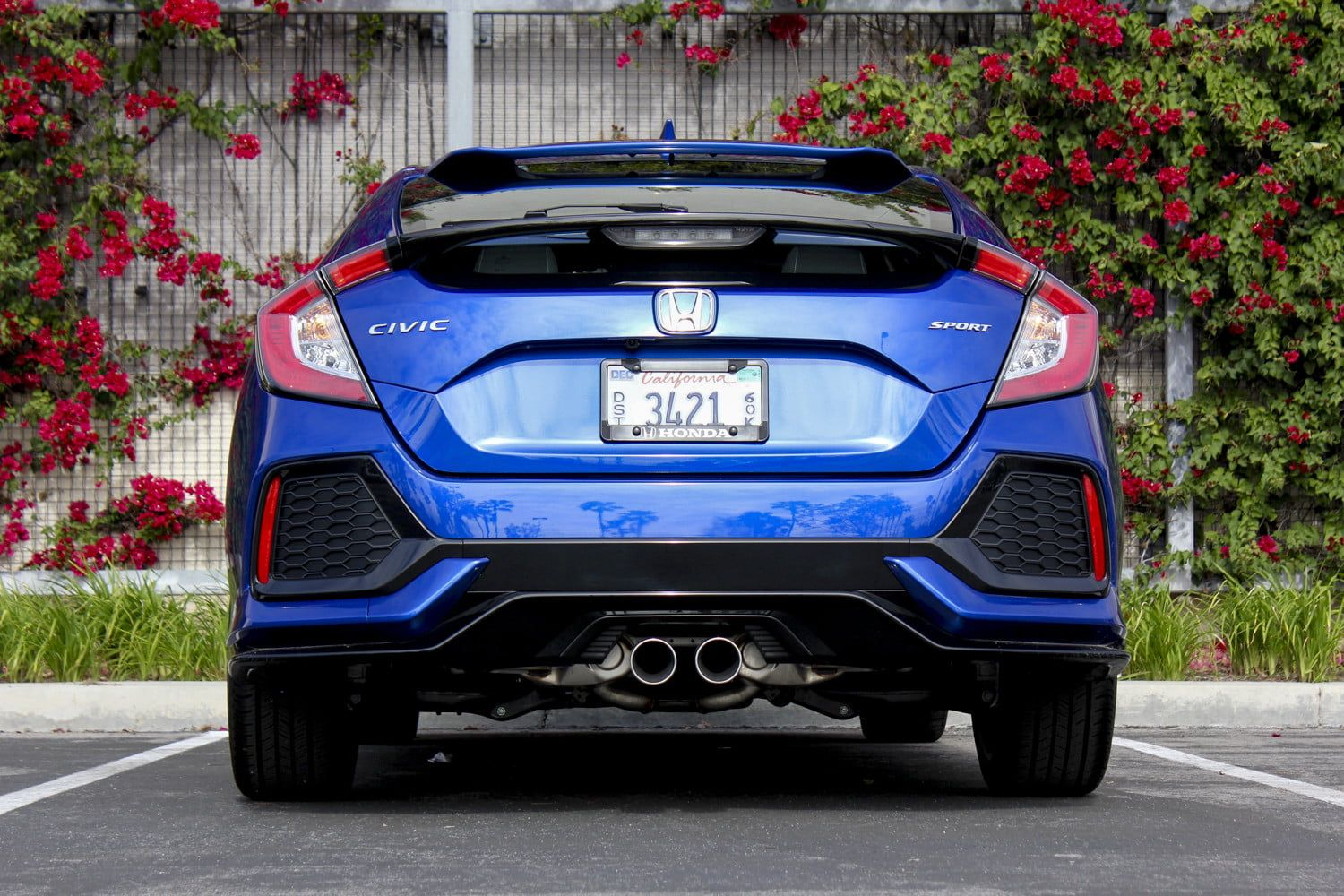 After a 12year hiatus, the Civic Hatchback is a compact