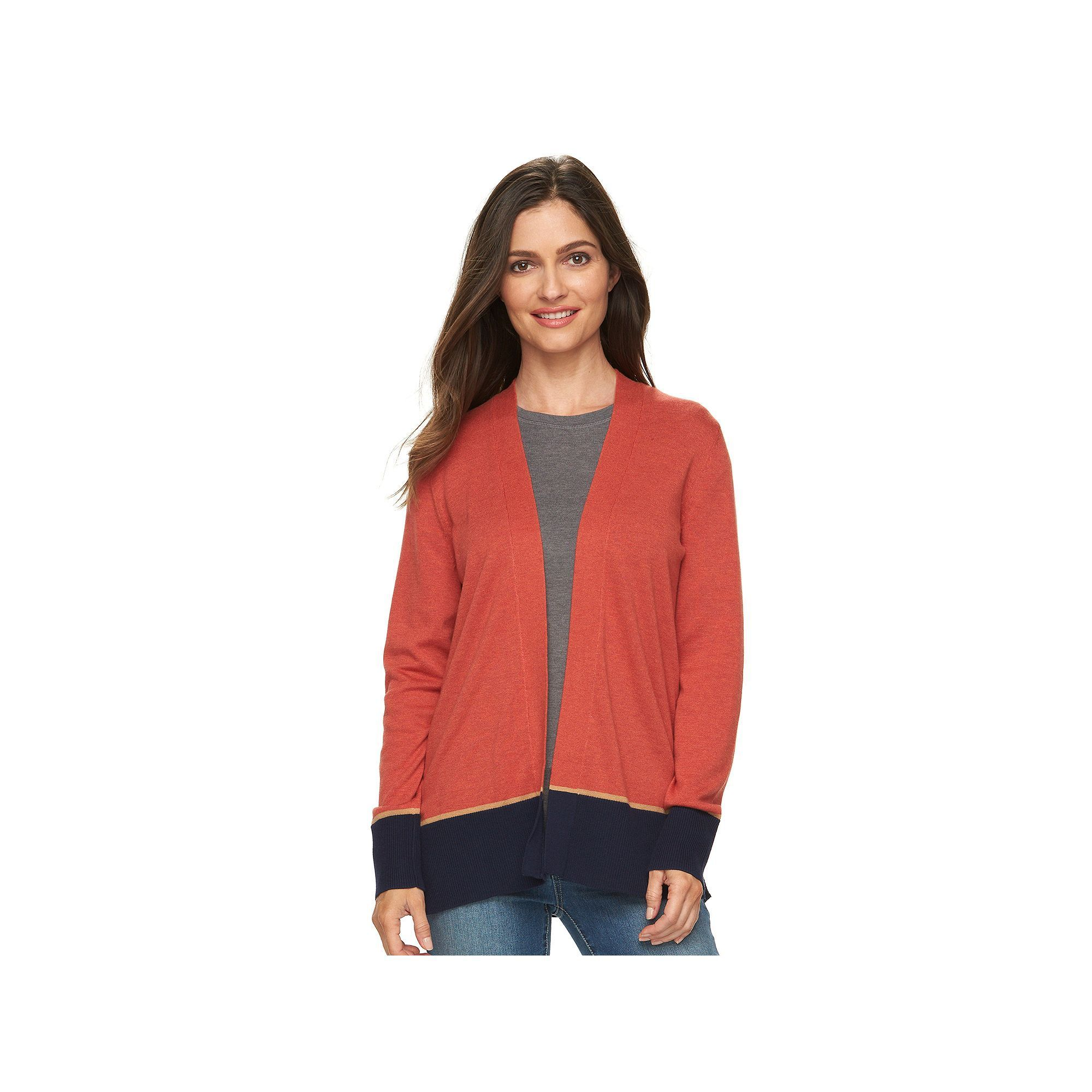 860acf2c51e2 Croft   Barrow Women s Essential Open Front Cardigan