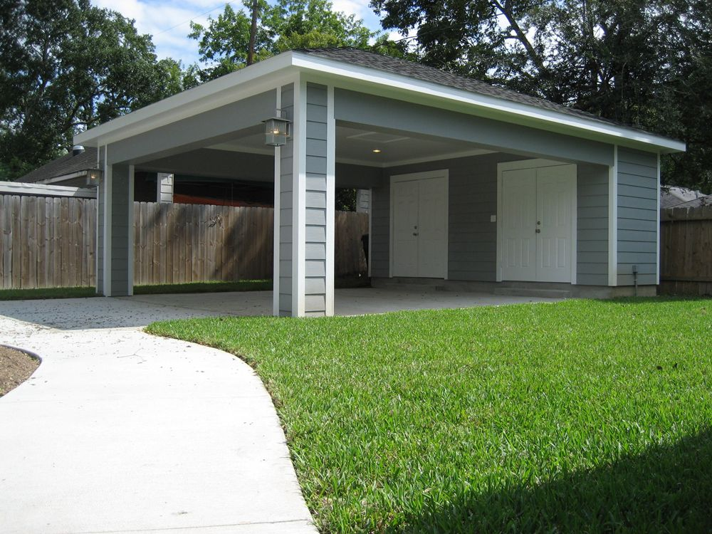 Remodel houston garage carport addition recraft homes for Carport additions
