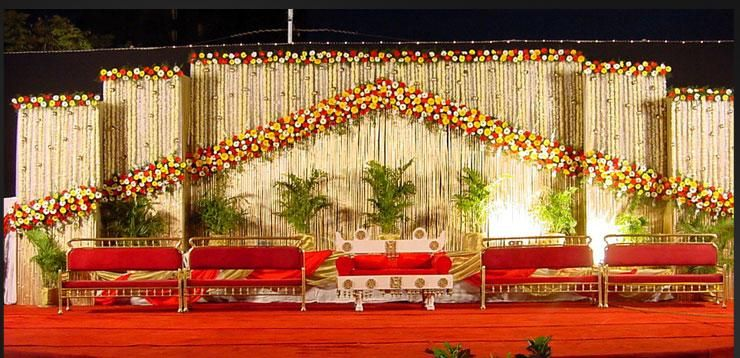 A Wedding Planner Indian Wedding Stage Decorations And Indian