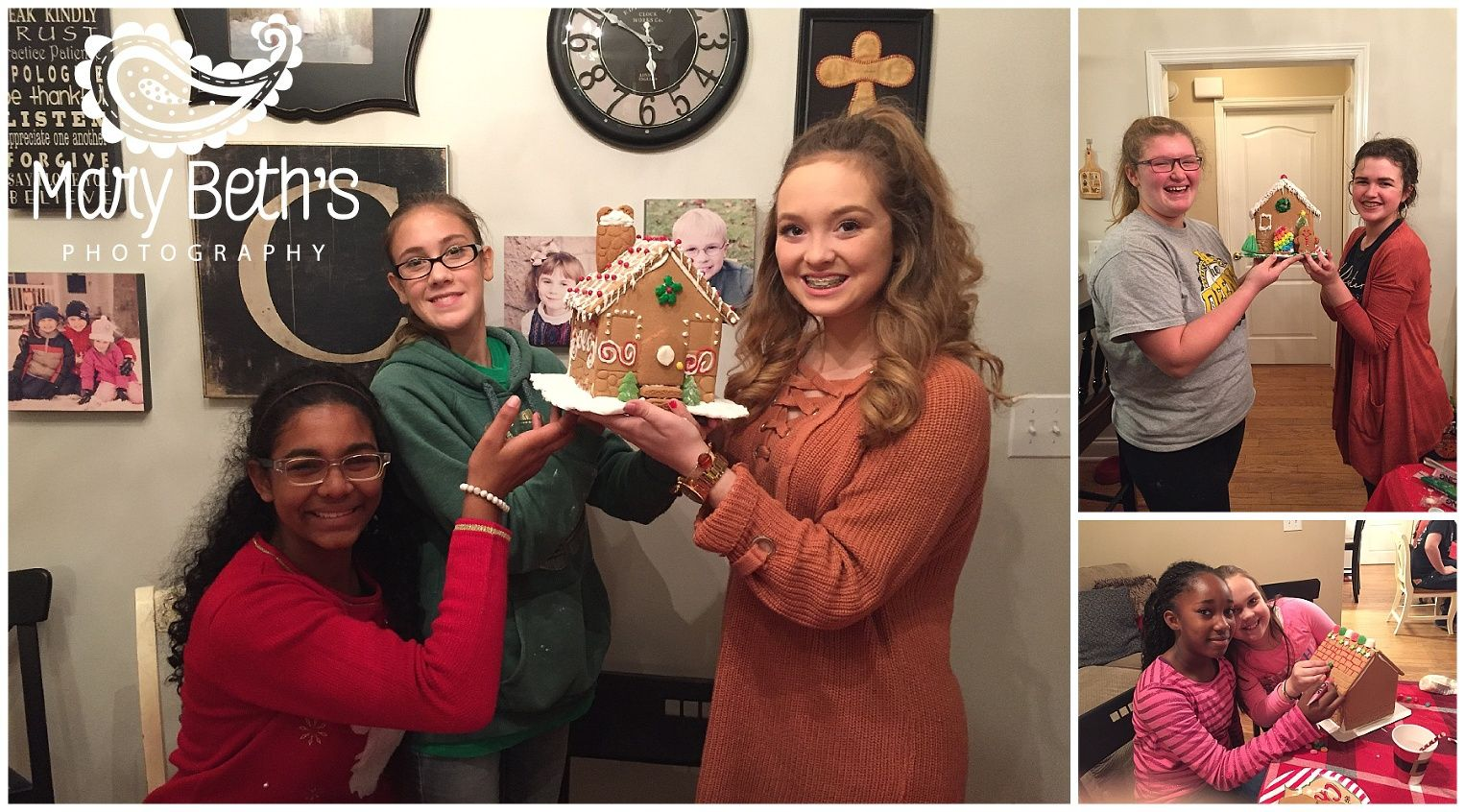 Augusta GA Newborn Photographer | Gingerbread House Traditions | Mary Beth's Photography  #marybethsphotography #gingerbreadhouses #holidaytraditions #kidactivity #funtimes #Ilovemyjob #portraits #augustaganewbornphotographer #fridaysfavoritethings #bestclientsever
