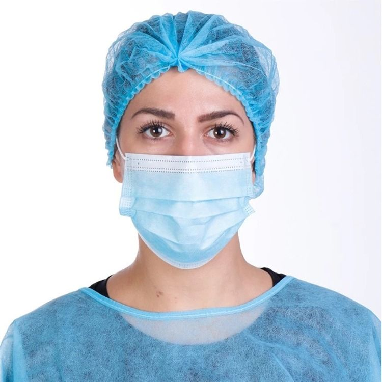3ply disposable medical surgical face mask in stock in