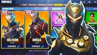 New Oblivion Female Omega Skin In Fortnite New Fortnite