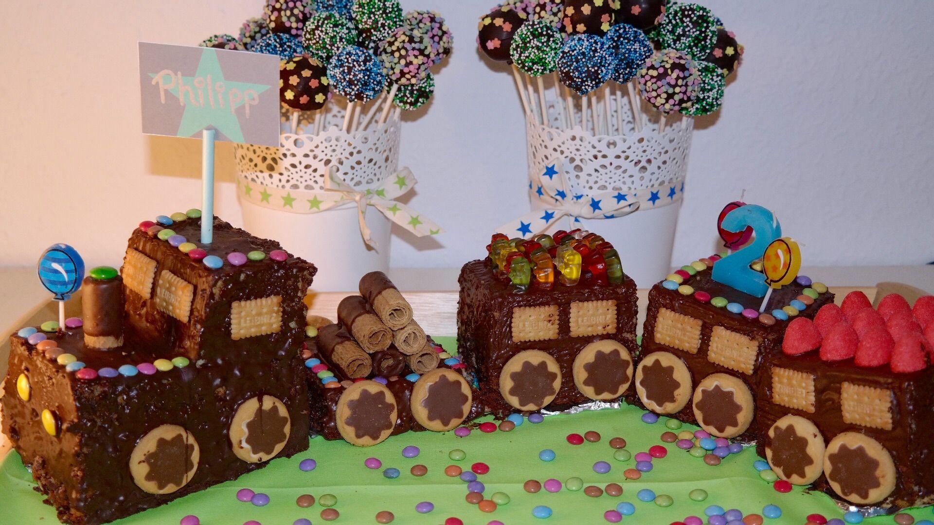 Chefsache Und Kindergluck Kindergeburtstag Kuchen Zug Kuchen
