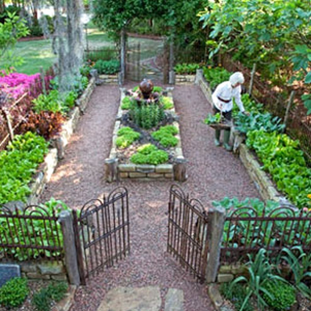 Back Yard Potager: 55 Best Backyard Vegetable Garden Designs Ideas