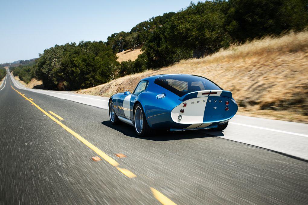 The 529,000 Renovo Coupe will do smoky burnouts around a