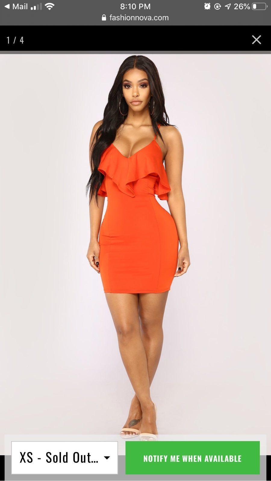 Dress On Mercari Sparkle Dress Long Tight Striped Dress Orange Dress [ 1600 x 900 Pixel ]