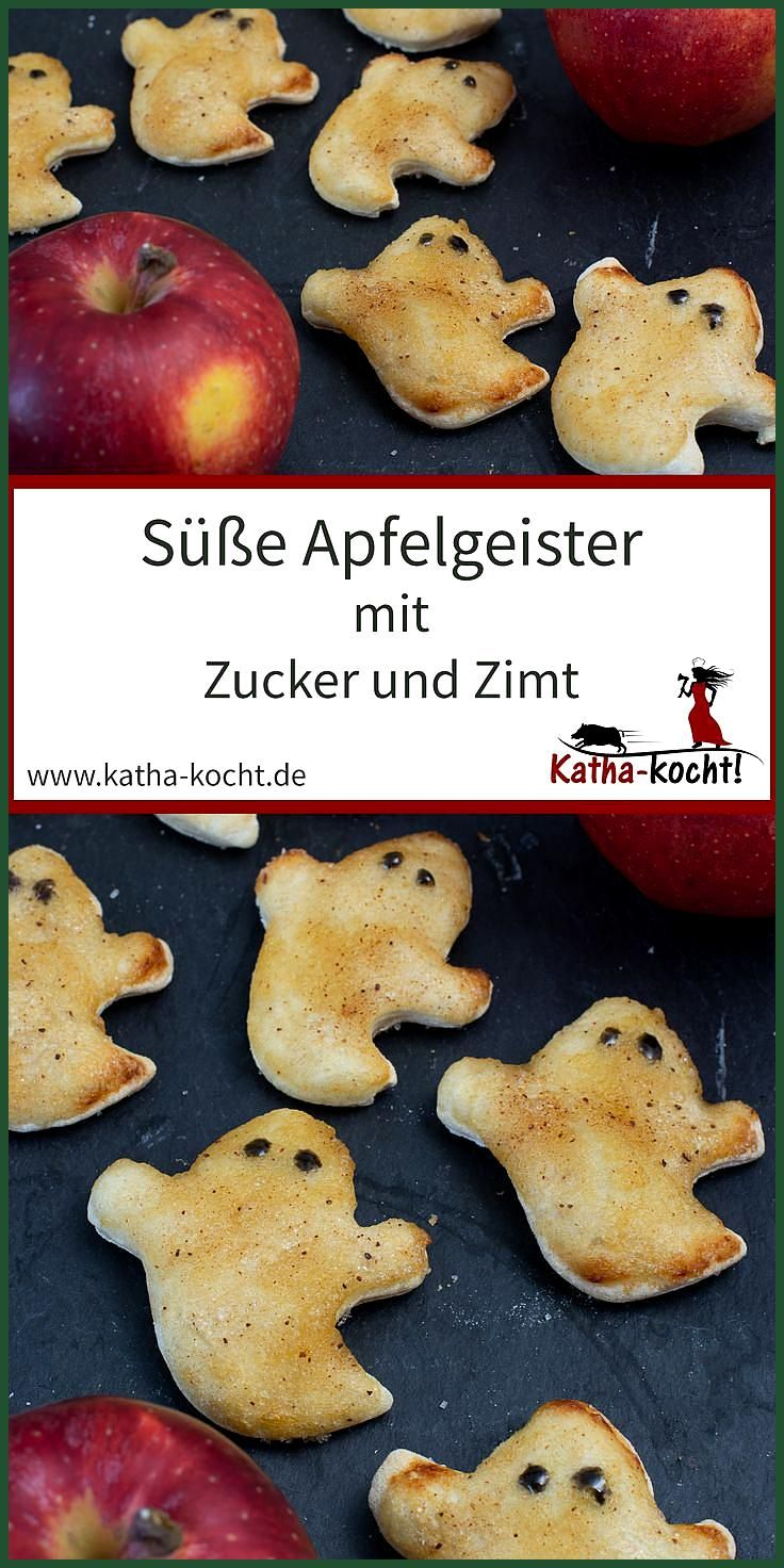 Süße Apfelgeister mit Zucker und Zimt #Apfelgeister #Fitness food abnehmen #Fitness food recipes #mi...
