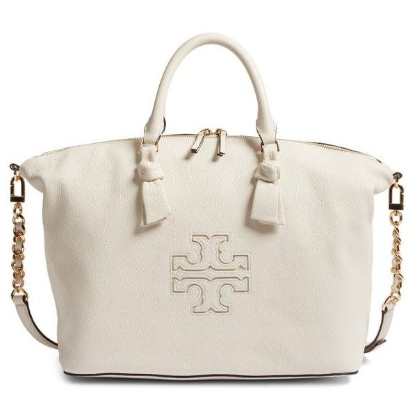 efc34cdb8218 Women s Tory Burch Harper Slouchy Leather Satchel (51440 RSD) ❤ liked on  Polyvore featuring