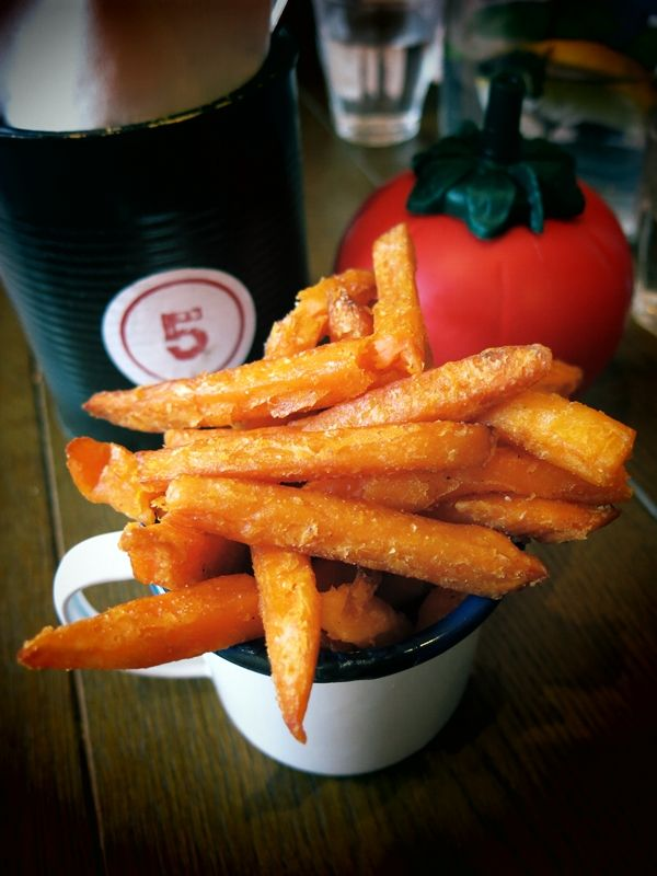 Sweet Potato Fries From Gourmet Burger Kitchen Photo By Pupeow M