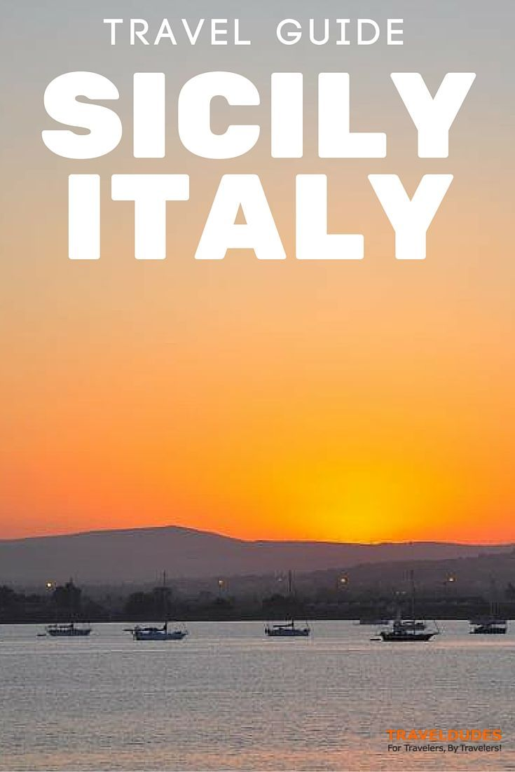 Mini Travel Guide: Getting Started in Sicily Italy - Sicily is a great island, washed by three seas with fantastic crystal clear water, with beautiful, diverse landscapes and a romantic Mediterranean culture legacy that mixes Greek temples, Norman churches, and Baroque palazzos | TravelDudes Social Travel Blog & Community: